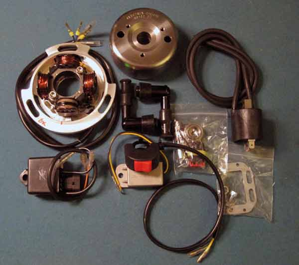 CDI ignition set up with lighting coil, hmmm     | Yamaha