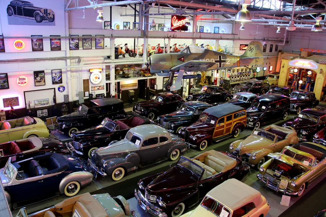 AutoMotorcycle Museum List - Route 66 cruisers car show list