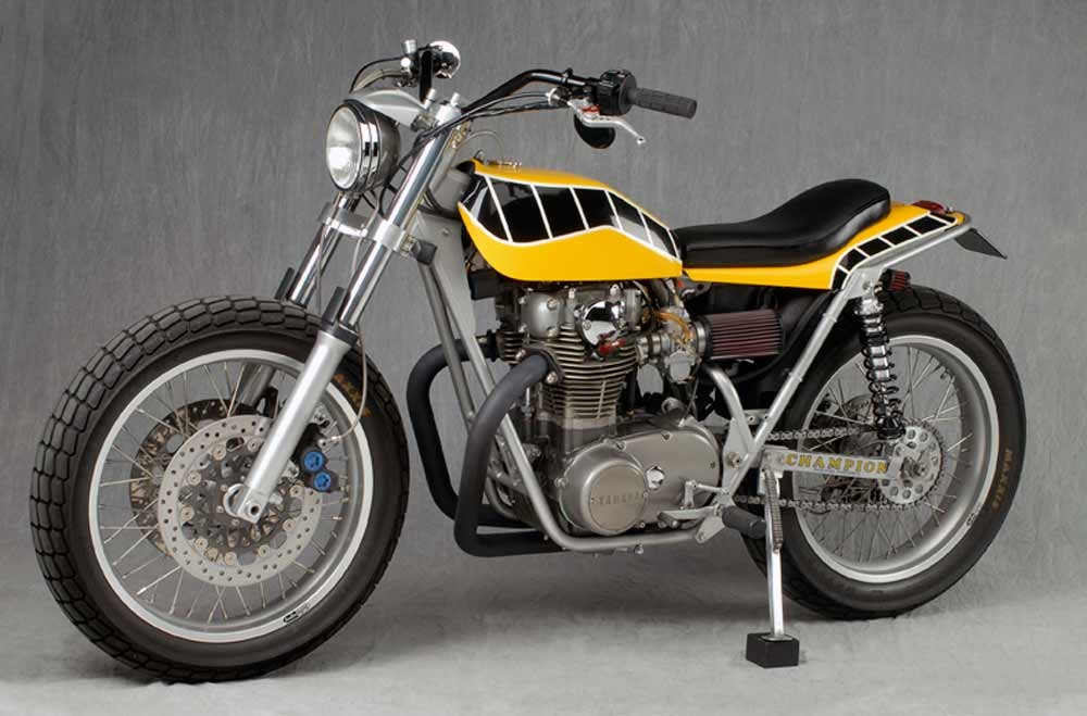 Yamaha Street Trackers On Vintage Flat Trackers Pages